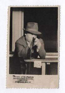 CARTE-PHOTO-Tir-photographique-Surrealisme-Fete-Foraine-Tireur-Vers-1944-Vintage