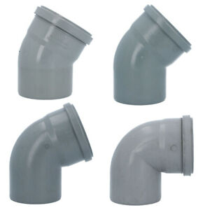 Bogen Kunststoff HT-Rohr Installation Abwasser 32 mm Weiß Varianten NEU