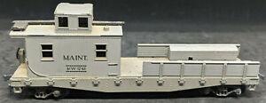 ATHEARN-Maintenance-MW-1741-GREY-FLAT-CAR-VINTAGE-HO-NICE