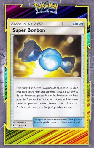 SL01:Soleil et Lune Super Bonbon Carte Pokemon Neuve Française 129//149