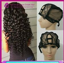 New  U-PART  NET Wig  Stretchable Lace Wig Caps For Making Wigs  with adjustable
