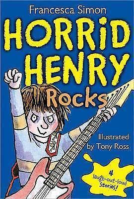 1 of 1 - Horrid Henry rocks by Francesca Simon|Tony Ross (Paperback / softback)