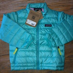 Patagonia Baby Down Sweater Strait Blue Nwt 3t