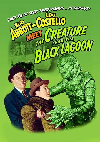 Abbott and Costello Meet the Creature From the Black Lagoon DVD NEW