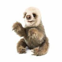 Folkmanis Baby Sloth Hand Puppet Free Shipping