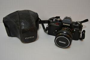 Vintage-Konica-Autoreflex-TC-Camera-w-Hexanon-AR-50mm-F1-4-Lens