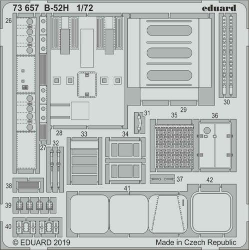 Neu B-52H interior for Modelcollect Eduard Accessories 73657 1:72