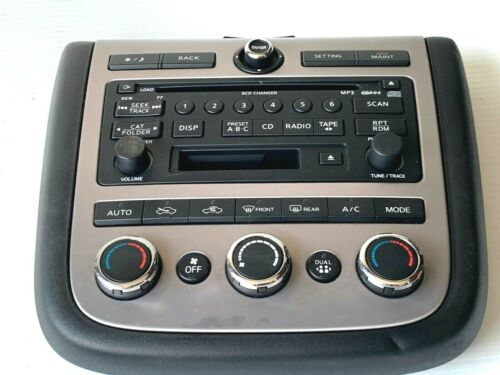 2006 2007 Nissan Murano A//C Heater Climate Audio Control Unit 28395 CC205 OEM !