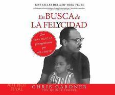 En Busca de la Felycidad (Pursuit of Happiness) by Chris Gardner (2016, CD,...