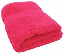 "PINK EGYPTIAN COTTON FACECLOTH WASHCLOTH BATHROOM TOWEL 600GSM 11"" - 29CM"