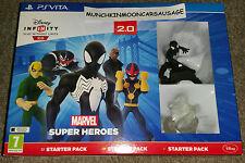 New Sealed Disney Infinity 2.0 Marvel Super Heroes Starter Pack PAL Sony PS Vita