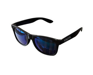 Kingpin-Skate-Supply-Shades-Gloss-Black-Blue-Mirror-Lens-Skateboard-Sunglasses