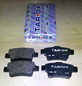 Pastiglie-freno-sportive-posteriori-TAROX-6781-Fiat-Grande-Punto-1-4-Tjet-16V