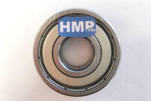 HMParts Pocket Bike Roulement de Roue 2 X à Billes 6000 Z Pour 10 MM Essieu