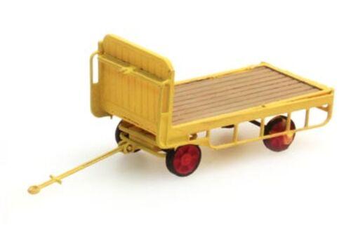 1:160: Anhänger Bahnsteigkarre gelb Artitec 316.14-YW Fertigmodell NEU