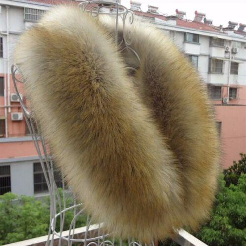 Ladies Women Fashion Winter Scarf Faux Fur Collar Scarves Shawls Warm UK