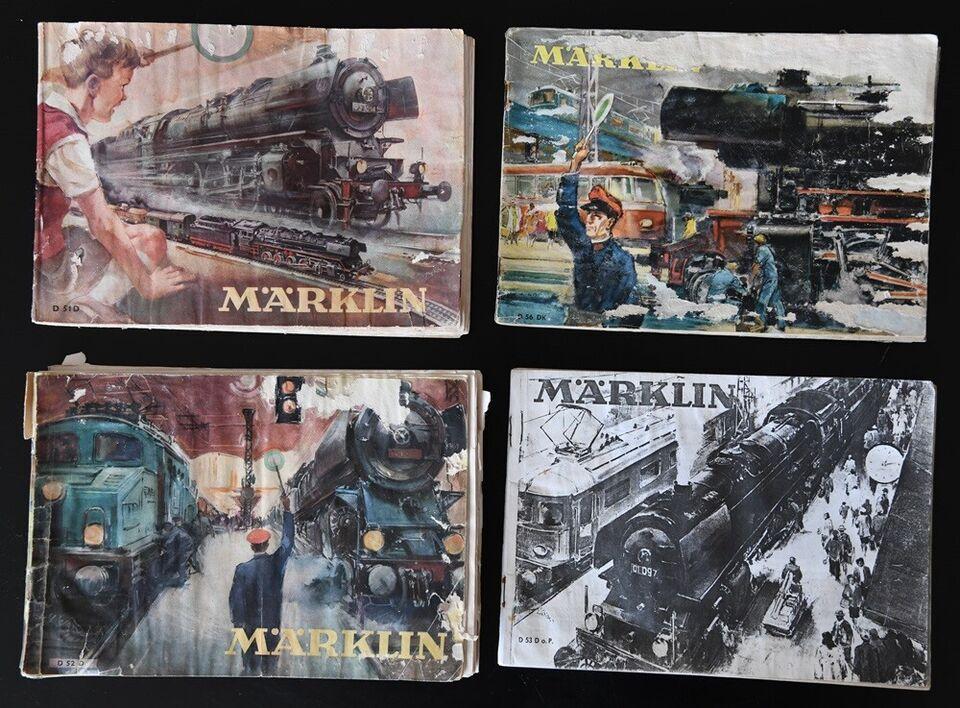Modelbane, Märklin kataloger