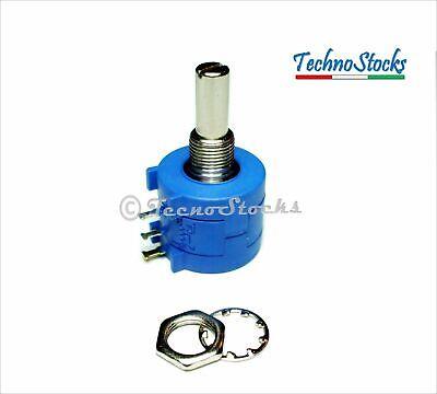 Potentiometer 20 Kohm 2W Potenziometro Multigiro Lineare a Filo model 3590