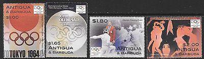 Stamps Antigua & Barbuda (until 1981) Antigua Sg3834/7 2004 Olympic Games Mnh