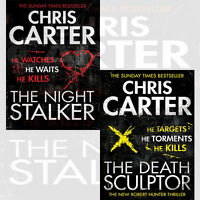 Chris Carter Robert Hunter Thriller Collection 2 Books Set(The Death Sculptor uk