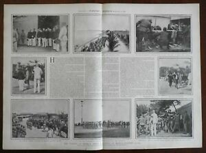 Military Funeral General Henry Lawton Philippines Manila 1900 great old print
