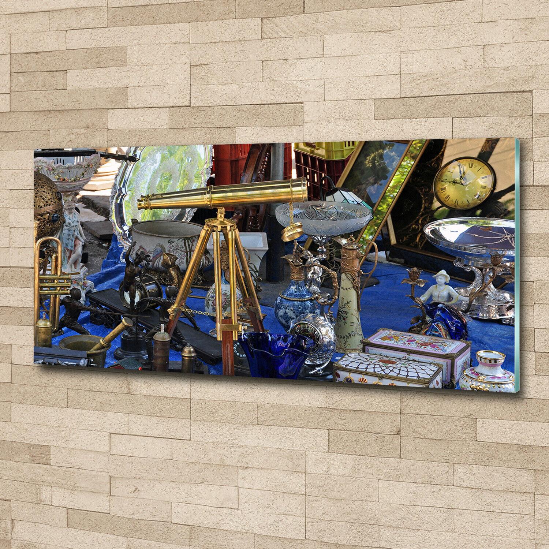 Acrylglas-Bild Wandbilder Druck 125x50 Deko Sonstige Antiquitäten