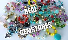 Littlest pet shop accessories: 4 MINI NECKLACES w/real gems (random)