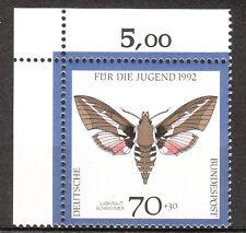 BRD 1992 Mi. Nr. 1603 Eckrand 1 Postfrisch LUXUS!!! (7942)