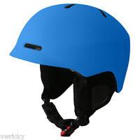 Manbi The Commander Ski Crash Helmet Black-white-blue-green Size Xl 60-61cms
