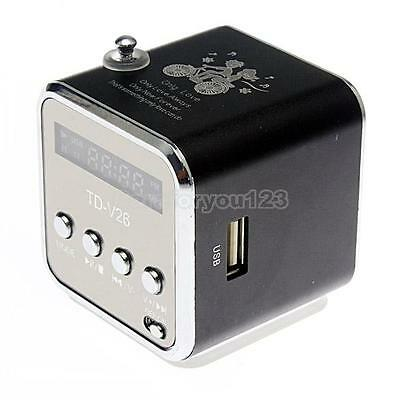 Mini USB Music Player Portable TF Card FM MP3 For Cell Phone Speaker Sound Box