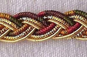 Bullion-Braid-Trim-Passementerie-Gimp-Metallic-Gold