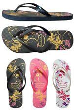 WHOLESALE LOT 48 Pairs Ladies Floral Print  Beach Flip Flop...(#333L)