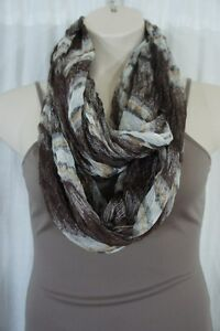 Collection Eighteen Scarf Sz One Size Ancient Stone Multi Infinity Loop Casual