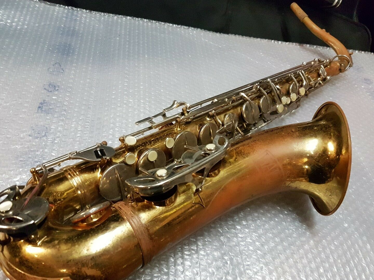 50's HALLMARK by MALERNE TENOR SAX   SAXOPHONE - made in FRANCE