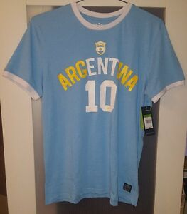 Image is loading UMBRO-ARGENTINA-SOCCER-TEE-SHIRT-MEN-SIZE-M 6ea1dc1d9