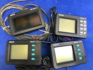 B-amp-G-Hydra-330-Hydra-2-amp-20-20-Instrument-Display-LOT-FOR-PARTS-REPAIR-NO-POWER