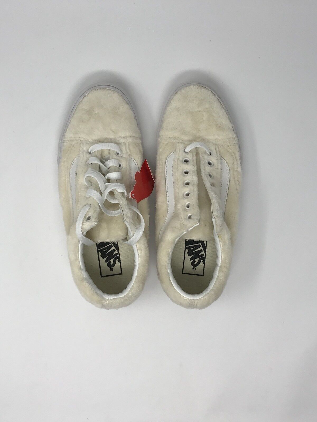 d796008ae4b553 VANS Old Skool Sherpa Turtledove Women s Skate Shoes Size 8.5 for ...