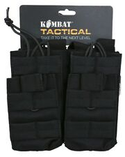 KOMBAT MOLLE DOUBLE DUO MAG POUCH BLACK