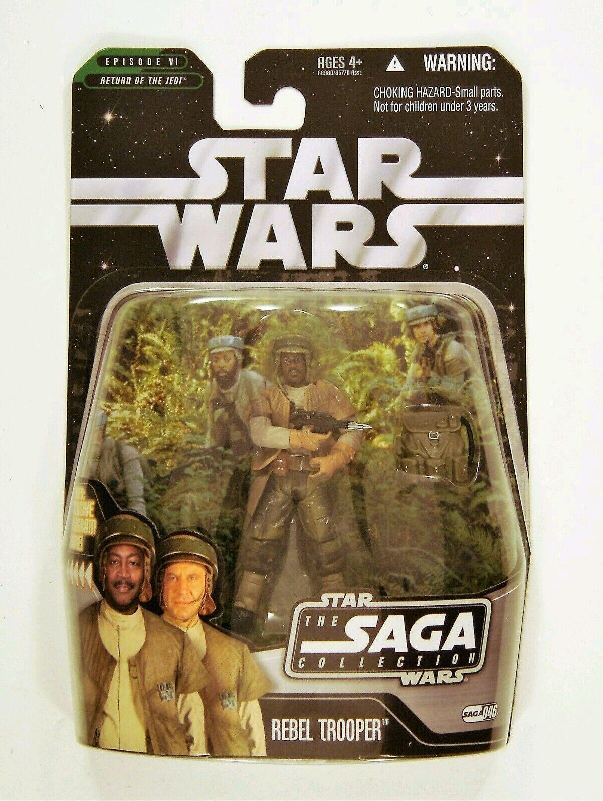 star wars  - saga sammlung rebellen hasbro trooper (variante) 3,75 zahlen