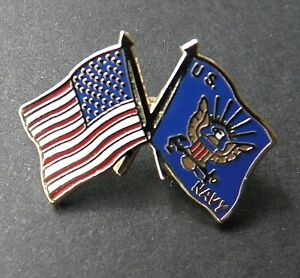 USA Wavy Flag /& Eagle United States US Cap Hat Lapel Pin Badge 7//8 inch x 1 inch