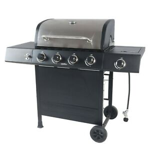 Best Gas Grill 4 Burner Portable Backyard Bbq Barbecue Propane Outdoor Cooking