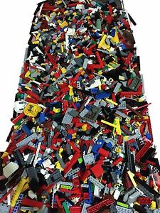 2000-Clean-Lego-Pieces-4lbs-HUGE-LOT-WITH-8-MINIFIGURES-Washed-and-Sanitized