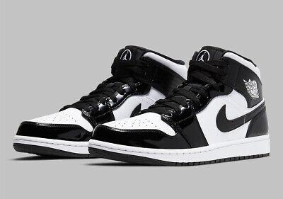 Nike Air Jordan 1 Mid SE ASW Carbon Fiber Black White DD1649-001 Men's or GS NEW | eBay