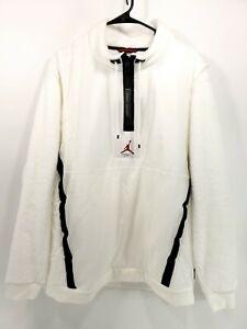 Nike-Jordan-Wings-of-Flight-1-4-Zip-Pullover-Fleece-Men-039-s-Size-Large-AH6255-100