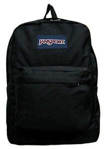 JANSPORT SUPERBREAK - SUPER BREAK - CLASSIC - BACKPACK BLACK - New ...
