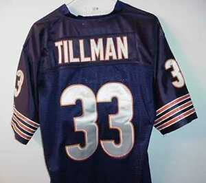 FBI-AGENT-CHARLES-PEANUT-TILLMAN-CHICAGO-BEARS-OLD-STOCK-JERSEY-WITH-TAGS