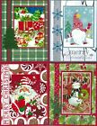 Handmade CHRISTMAS CARDS #C15--Lot of 4