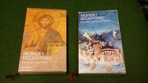 i classici della storia mondo bizantino mondadori 2 voll, 8mg21