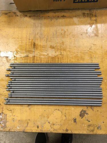 "20 pcs 303 Stainless Steel Solid Rod Lathe Bar Stock .280 Diameter 12/"" Length"