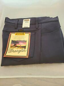Wrangler-Men-039-s-Wrancher-Western-Cowboy-Fits-Over-Boots-Dress-Jean-Coal-33-x-32